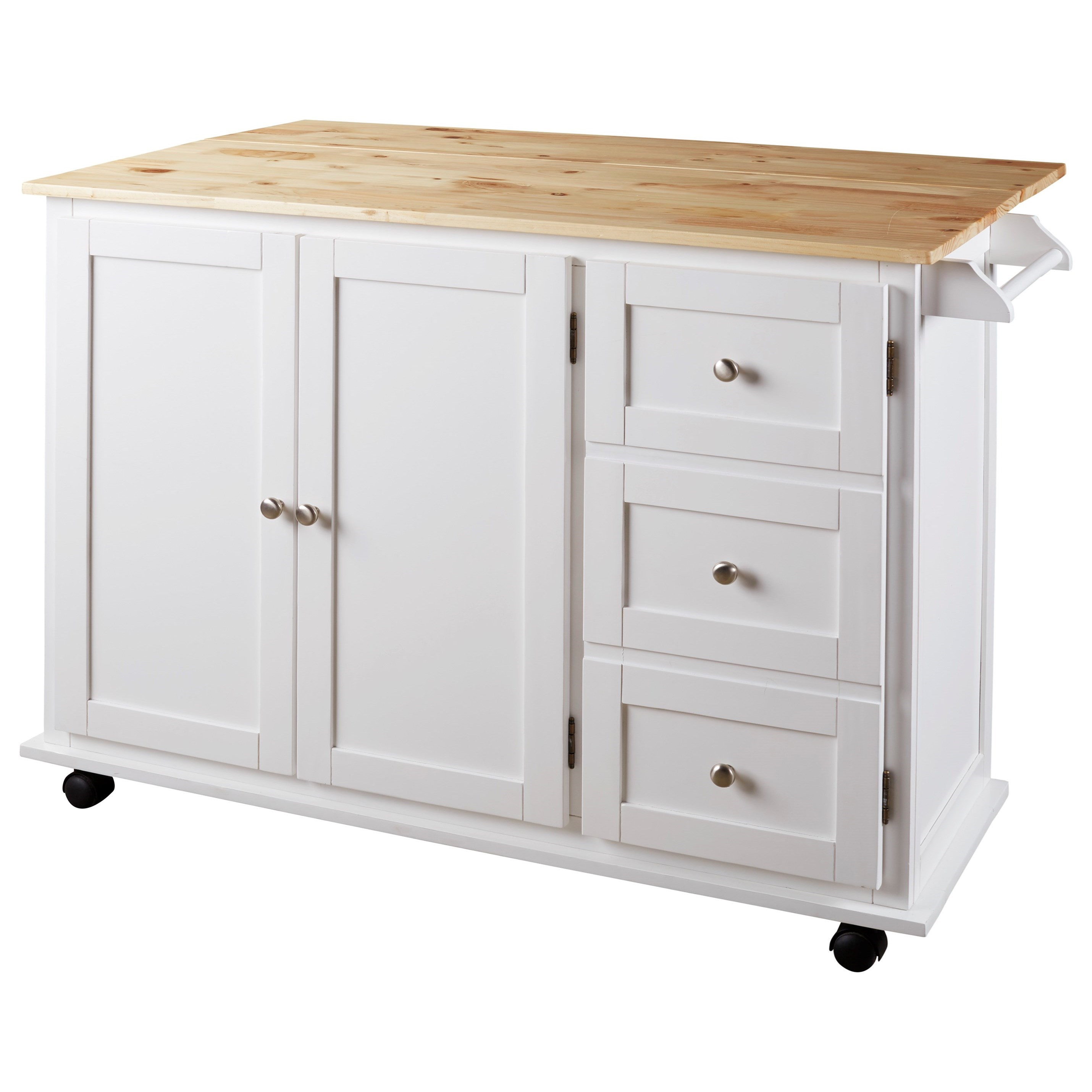 Ashley Signature Design Withurst D350 486 Two Tone Kitchen Cart