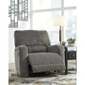 Signature Design by Ashley Wittlich Casual Contemporary Swivel Glider Recliner