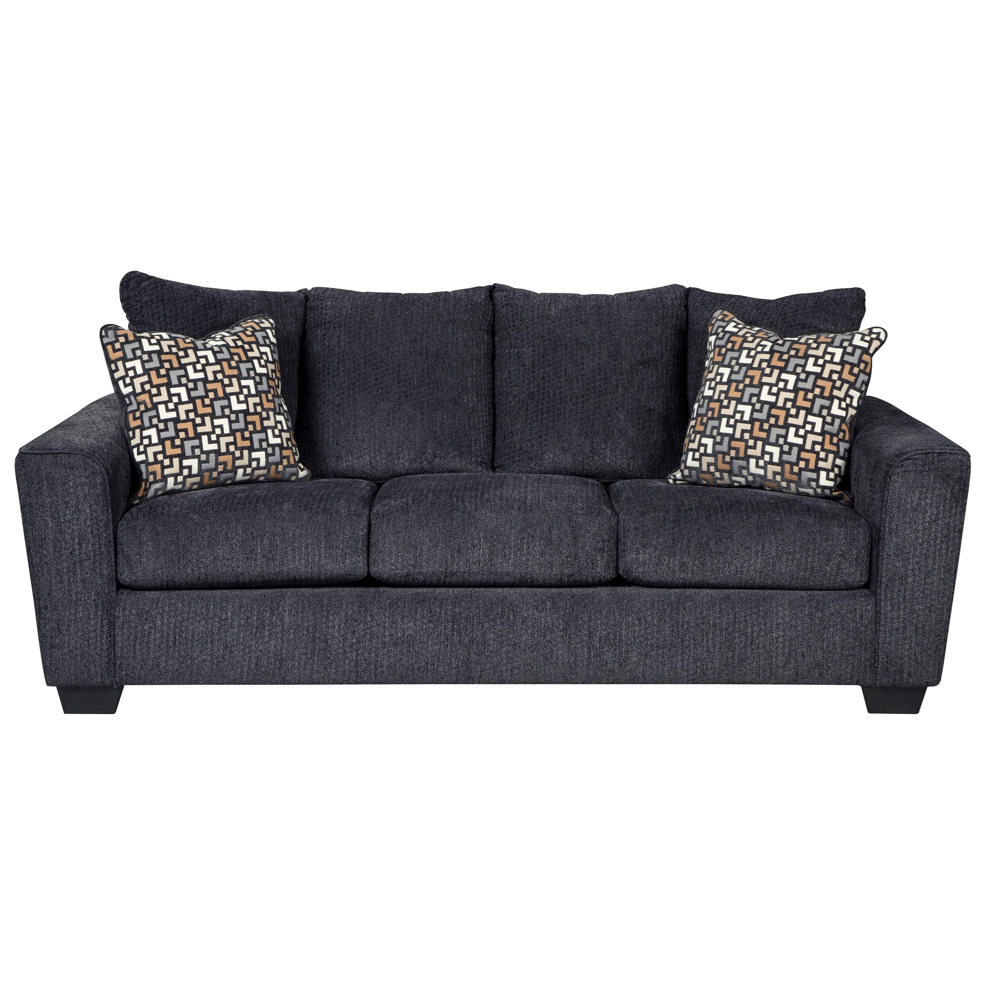 Benchcraft Wixon Queen Sofa Sleeper with Memory Foam Mattress