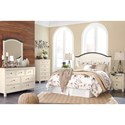 Signature Design by Ashley Woodanville Queen Bedroom Group - Item Number: B623 Q Bedroom Group 2