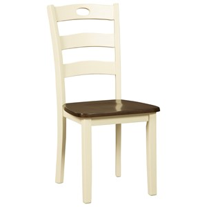 Signature Design by Ashley Woodanville Dining Room Side Chair