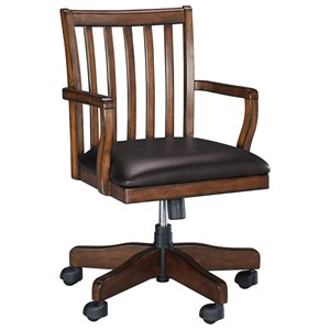 Signature Design by Ashley Woodboro Home Office Swivel Desk Chair