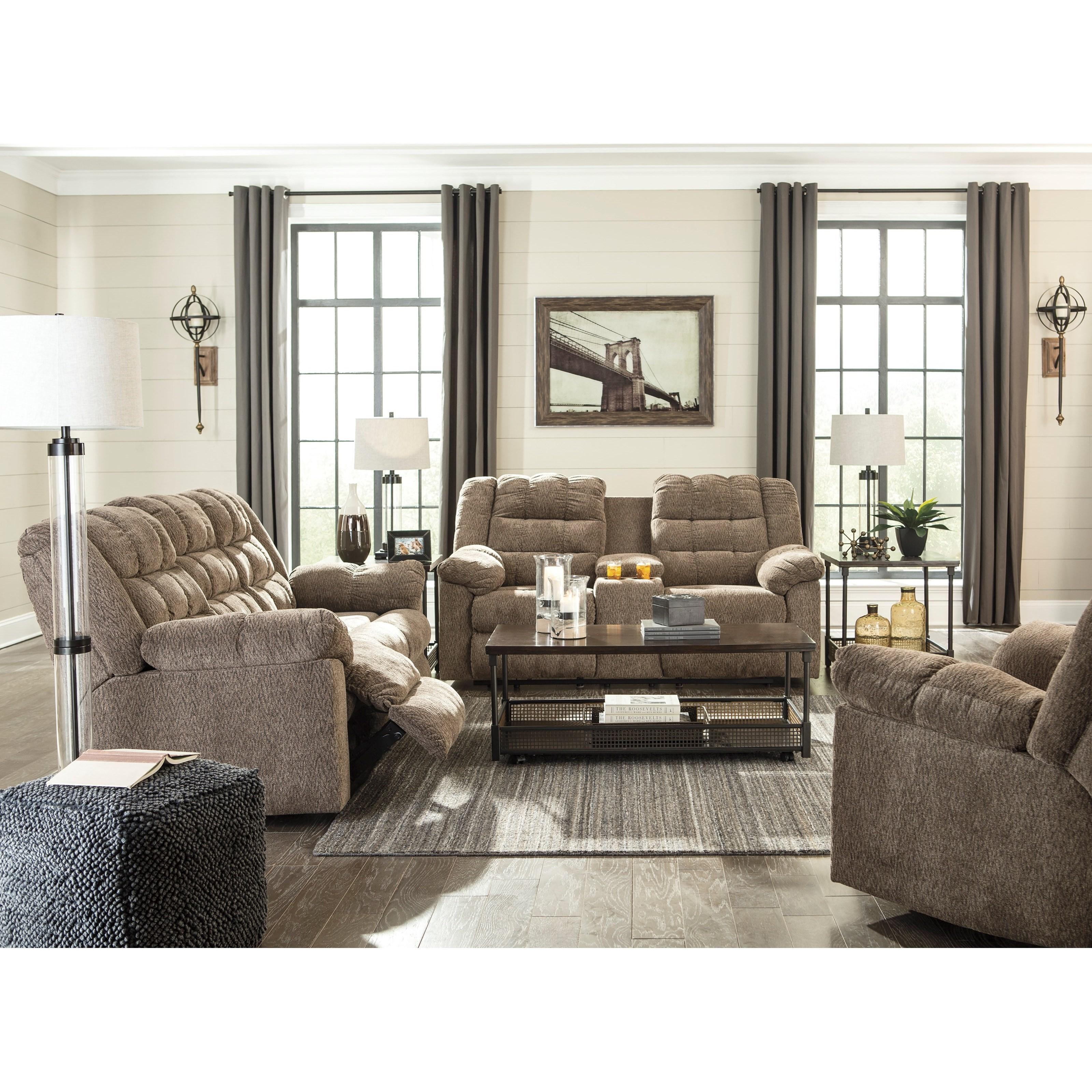 Ashley Furniture Manufacturer: Signature Design By Ashley Workhorse Casual Rocker