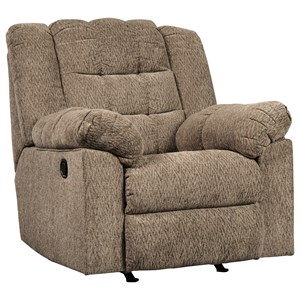 Signature Design by Ashley Workhorse Rocker Recliner