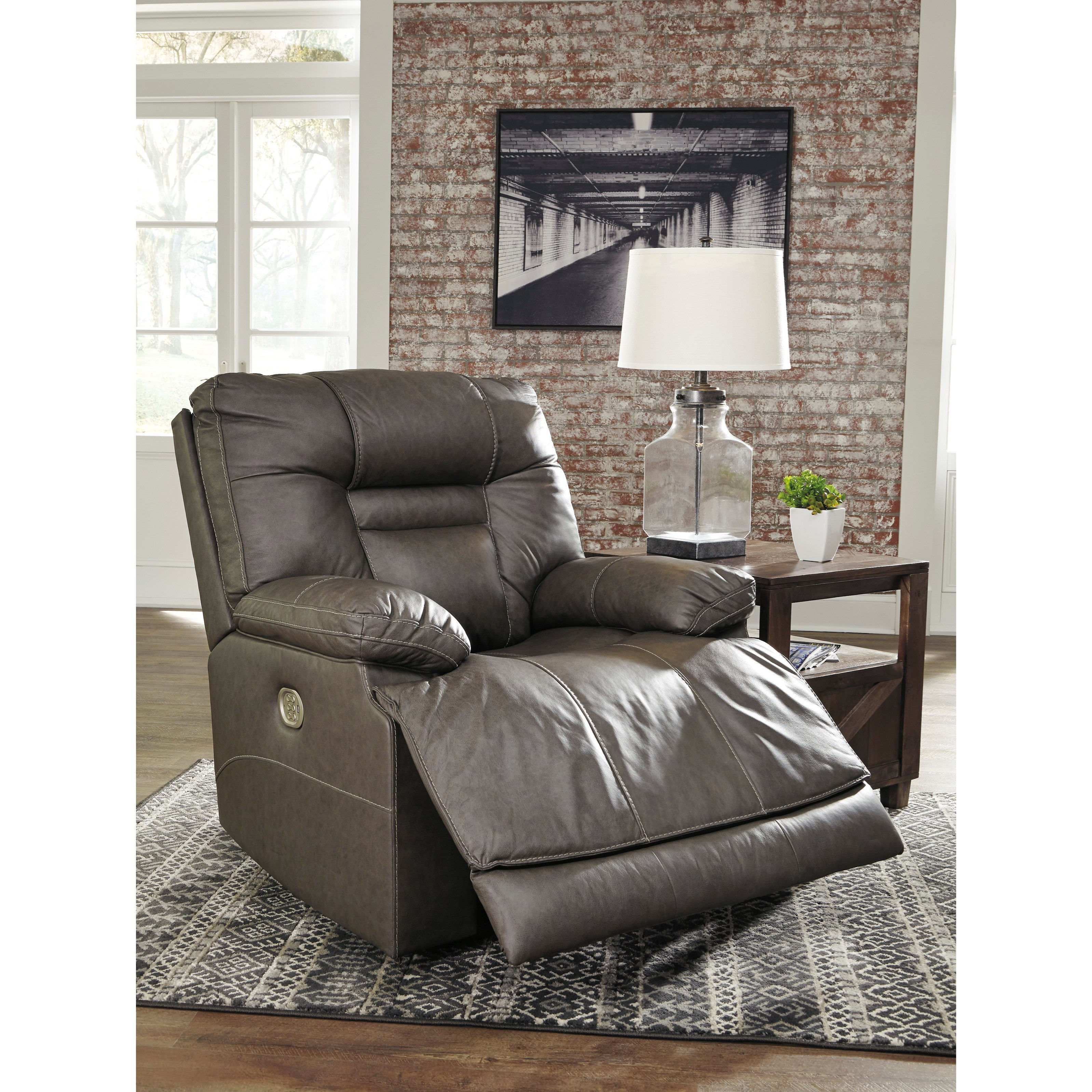 Signature Design By Ashley Wurstrow Power Recliner With