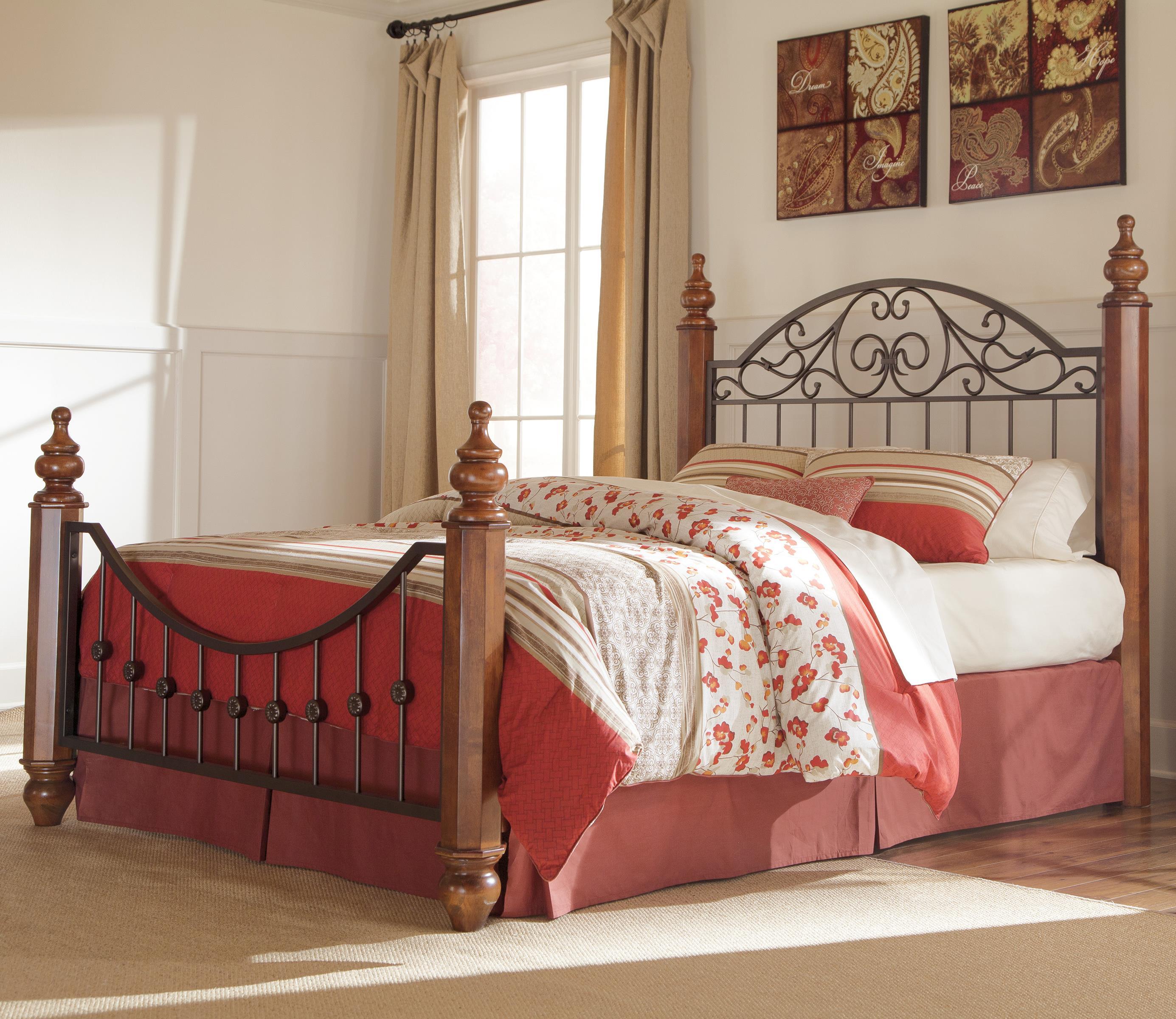Vachel Poster Bedroom Set From Ashley B264 67 64 98 61: Ashley King Poster Bedroom Set. Timberline King Size