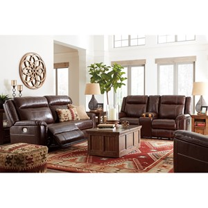 Signature Design by Ashley Wyline Reclining Living Room Group