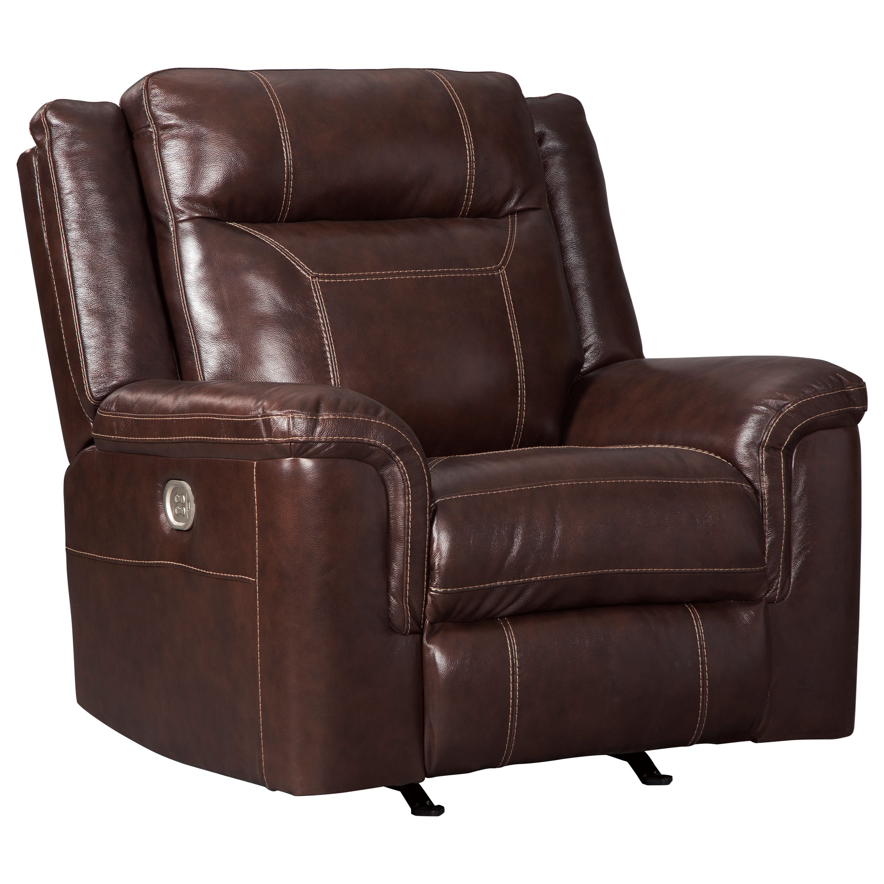 Ashley Furniture Recliners: Signature Design By Ashley Wyline Power Rocker Recliner With Adjustable Headrest