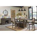 Signature Design by Ashley Wyndahl Dining Room Group - Item Number: D813 Dining Room Group 2