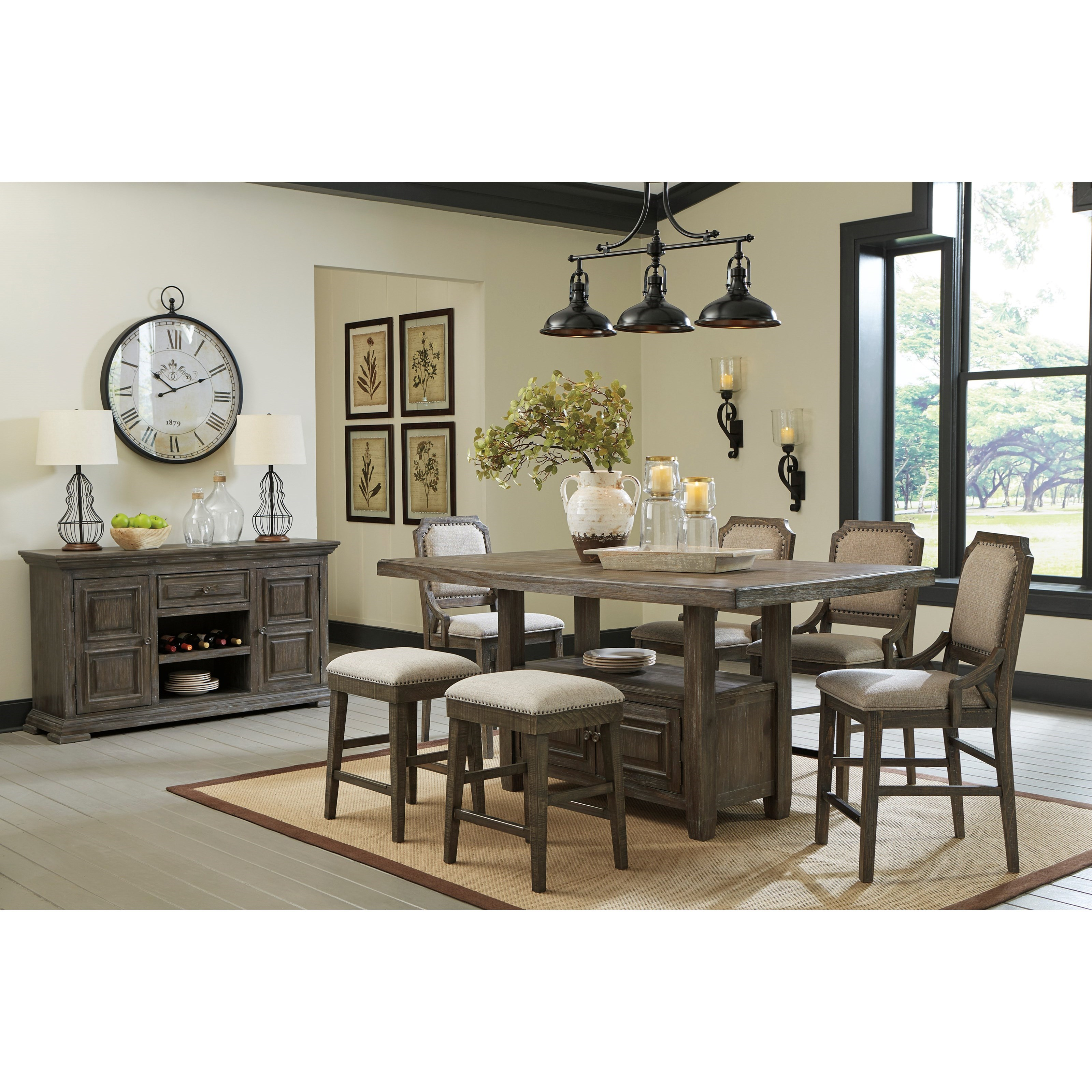 Signature Design By Ashley Wyndahl Dining Room Group A1 Furniture Mattress Formal Dining Room Groups