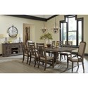 Signature Design by Ashley Wyndahl Dining Room Group - Item Number: D813 Dining Room Group 8