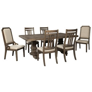 7-Piece Dining Table Set