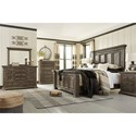 Signature Design by Ashley Wyndahl California King Bedroom Group - Item Number: B813 CK Bedroom Group