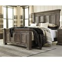 Signature Design by Ashley Wyndahl Rustic Lodge-Style California King Panel Bed