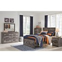 Signature Design by Ashley Wynnlow Full Bedroom Group - Item Number: B440 F Bedroom Group 6