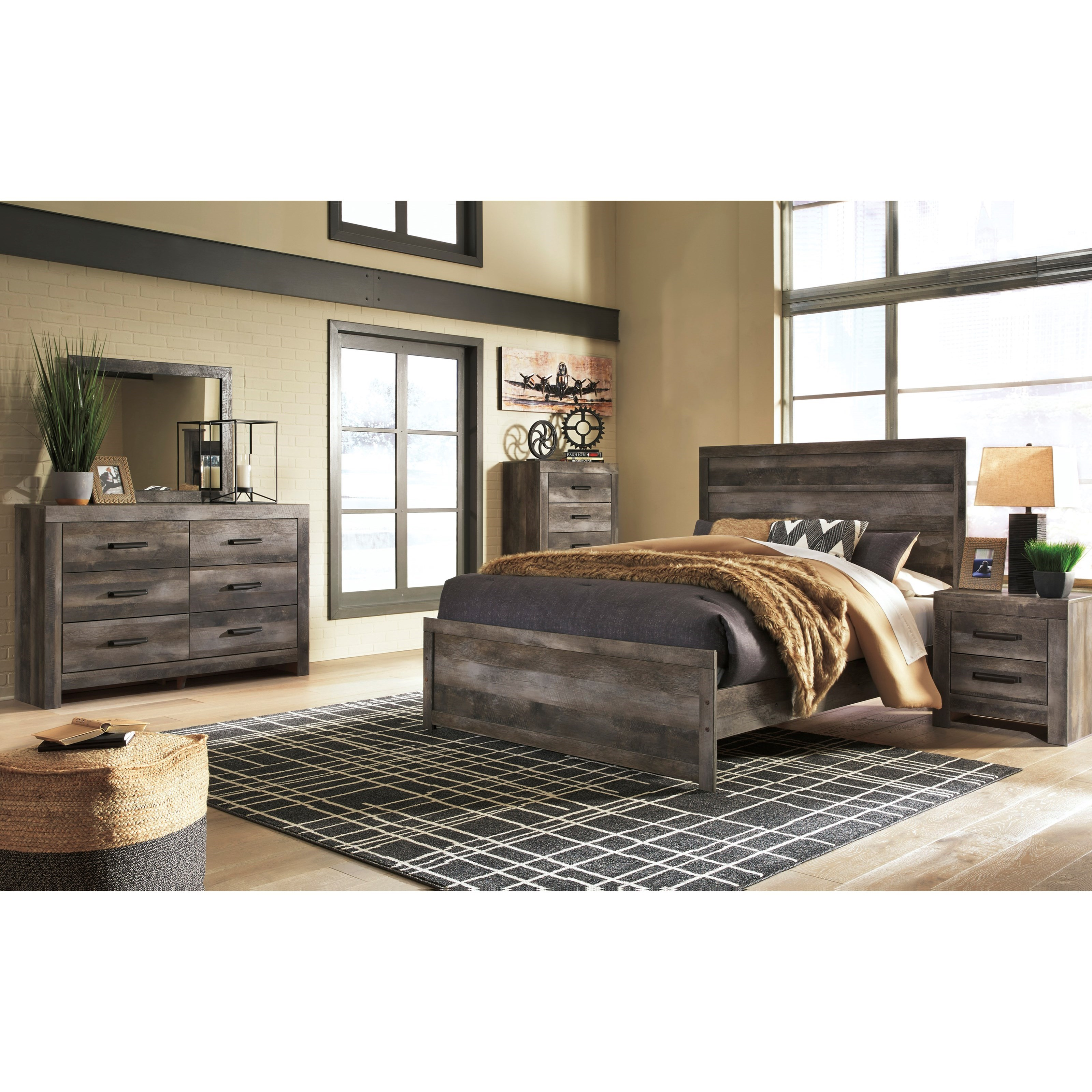 Wynnlow Queen Bedroom Group by Signature Design by Ashley at Nassau Furniture and Mattress