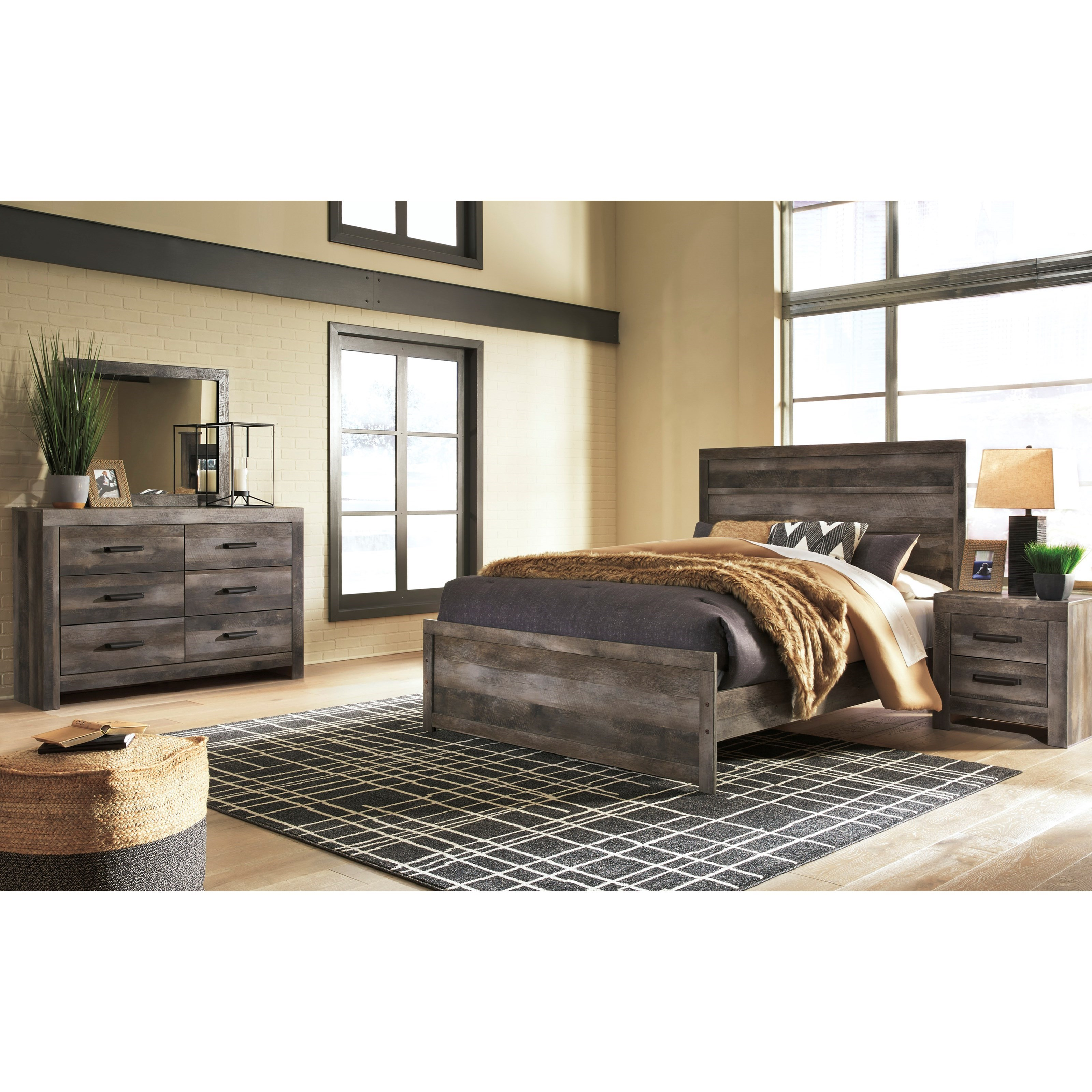 Signature Design By Ashley Wynnlow Queen Bedroom Group Godby Home Furnishings Bedroom Groups