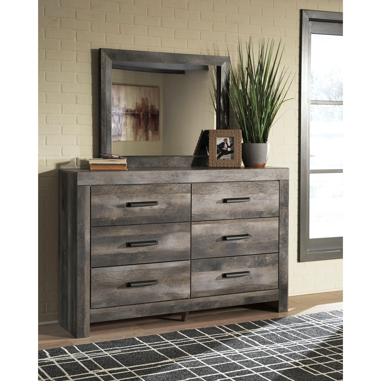 Ashley Furniture Manufacturer: Signature Design By Ashley Wynnlow 6-Drawer Dresser And