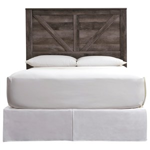 Queen Crossbuck Panel Headboard