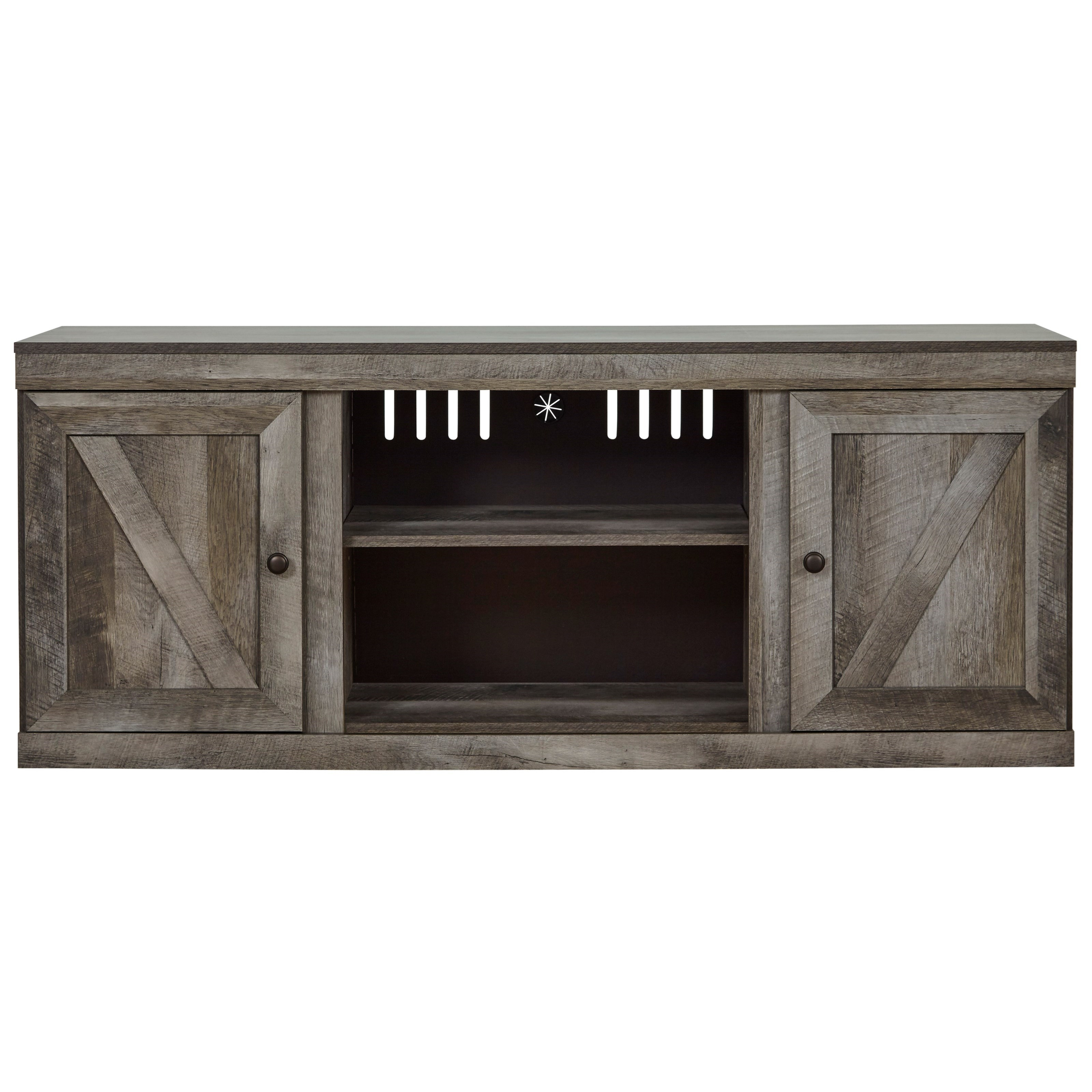 Wynnlow Large TV Stand by Signature Design by Ashley at Carolina Direct