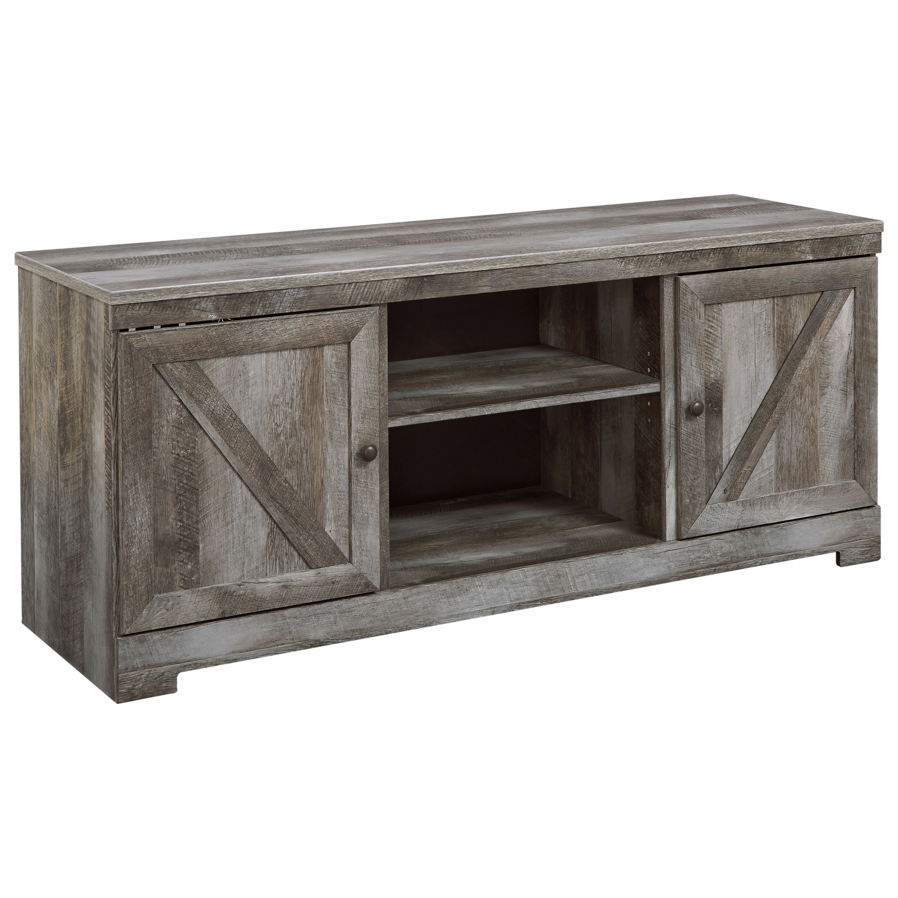 Signature Design By Ashley Wynnlow Large Tv Stand In