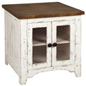 Signature Design by Ashley Wystfield Rectangular End Table - Item Number: T459-3