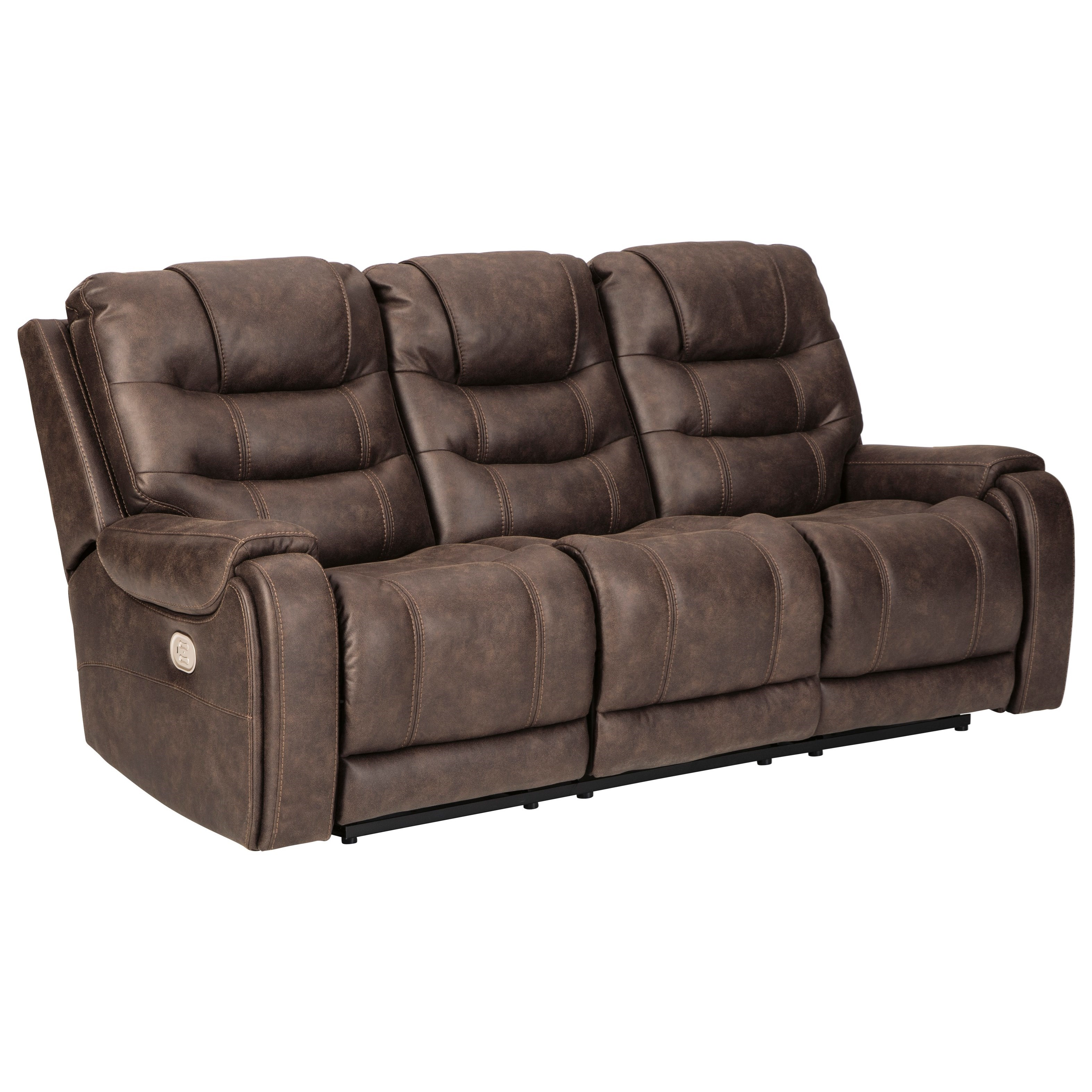 Yacolt Power Reclining Sofa by Signature Design by Ashley at Beck's Furniture