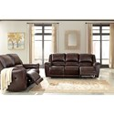 Signature Design by Ashley Yancy Reclining Living Room Group - Item Number: 29200 Living Room Group 2