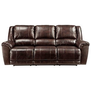 Signature Design by Ashley Yancy Reclining Power Sofa