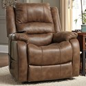 Signature Design by Ashley Yandel Power Lift Recliner - Item Number: 1090012