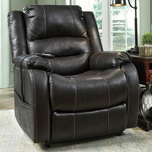 Signature Design by Ashley Yandel Power Lift Recliner