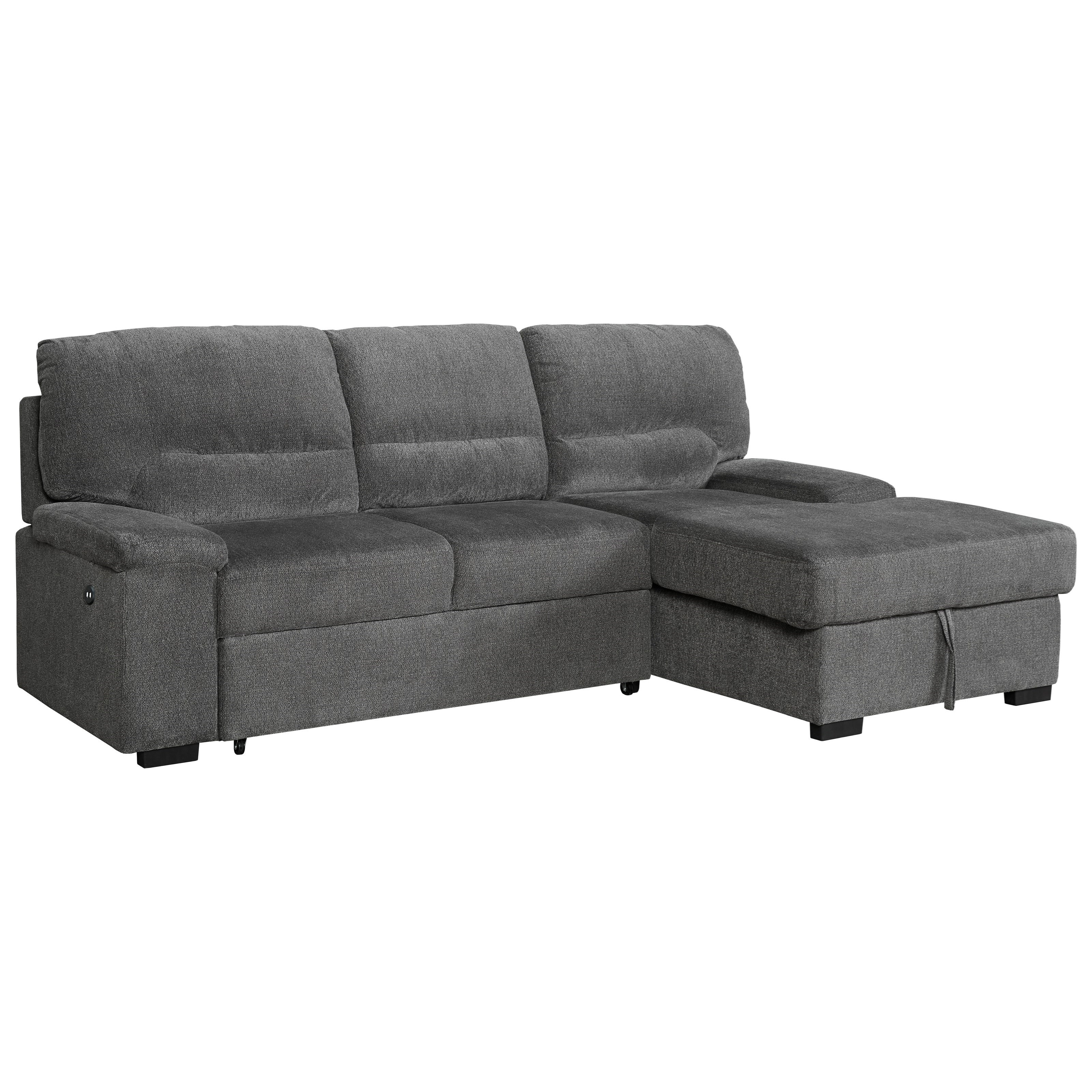 Yantis Sectional by Signature Design by Ashley at Beck's Furniture