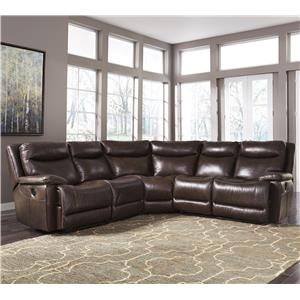 Signature Design by Ashley Zaiden Reclining Sectional