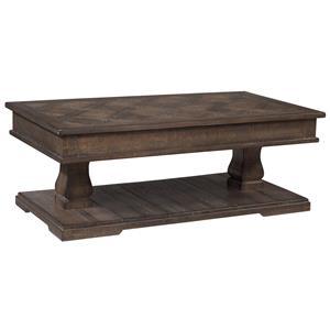 Ashley (Signature Design) Zalarah Rectangular Lift-Top Table