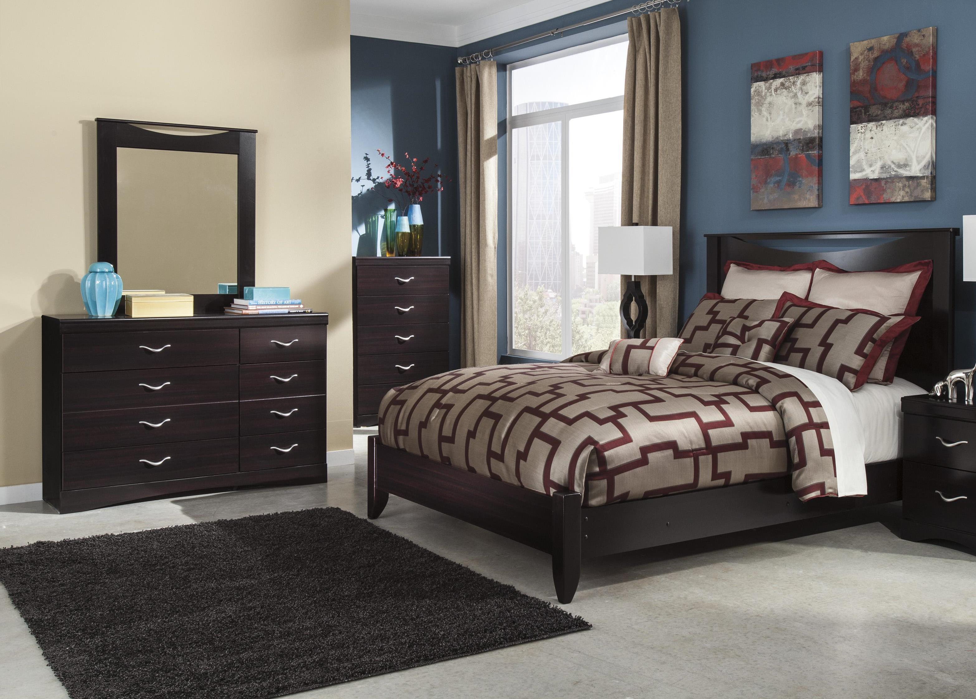Signature Design by Ashley Zanbury 3PC Queen Bedroom - Item Number: B217 QN BDM