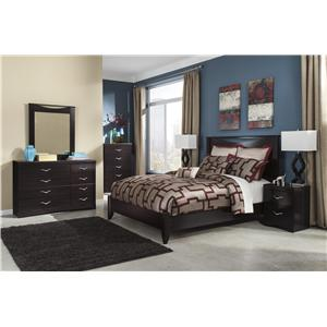 Signature Design by Ashley Zanbury 4PC Queen Bedroom