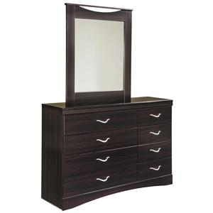 Signature Design by Ashley Zanbury Dresser & Mirror