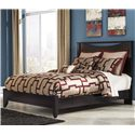 Signature Design by Ashley Zanbury King Bed with Low-Profile Footboard - Item Number: B217-58+56