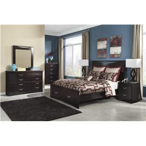 Signature Design by Ashley Furniture Zanbury Queen Bedroom Group