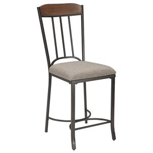 Signature Design by Ashley Zanilly Upholstered Barstool