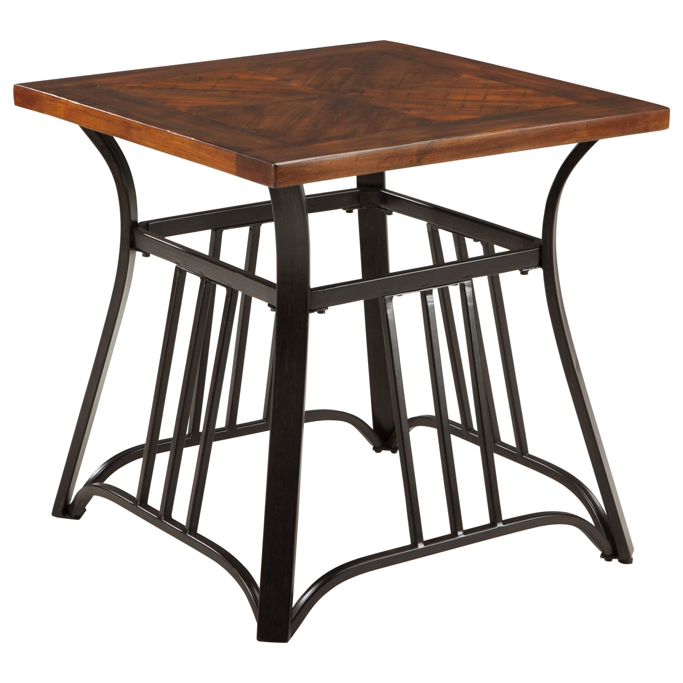 Signature Design by Ashley Zanilly Square End Table - Item Number: T607-2