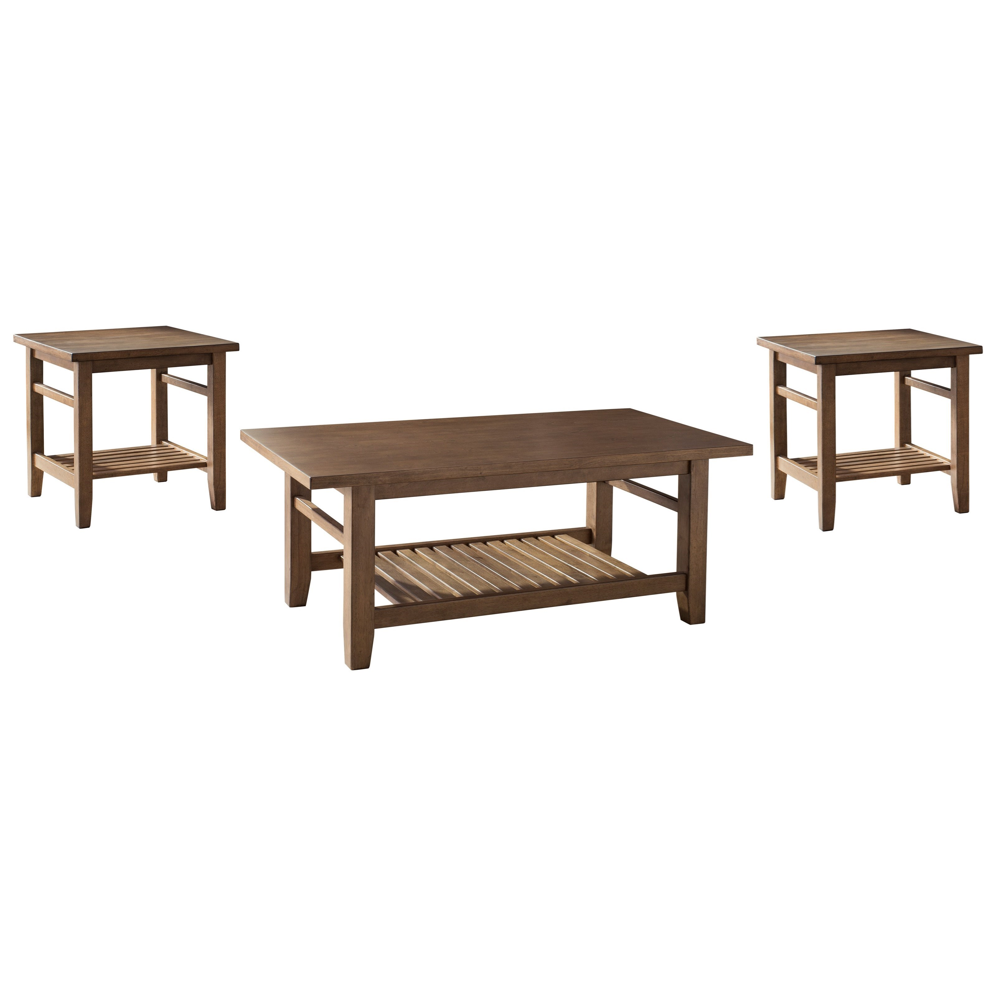 Signature Design by Ashley Zantori Occasional Table Set - Item Number: T125-13