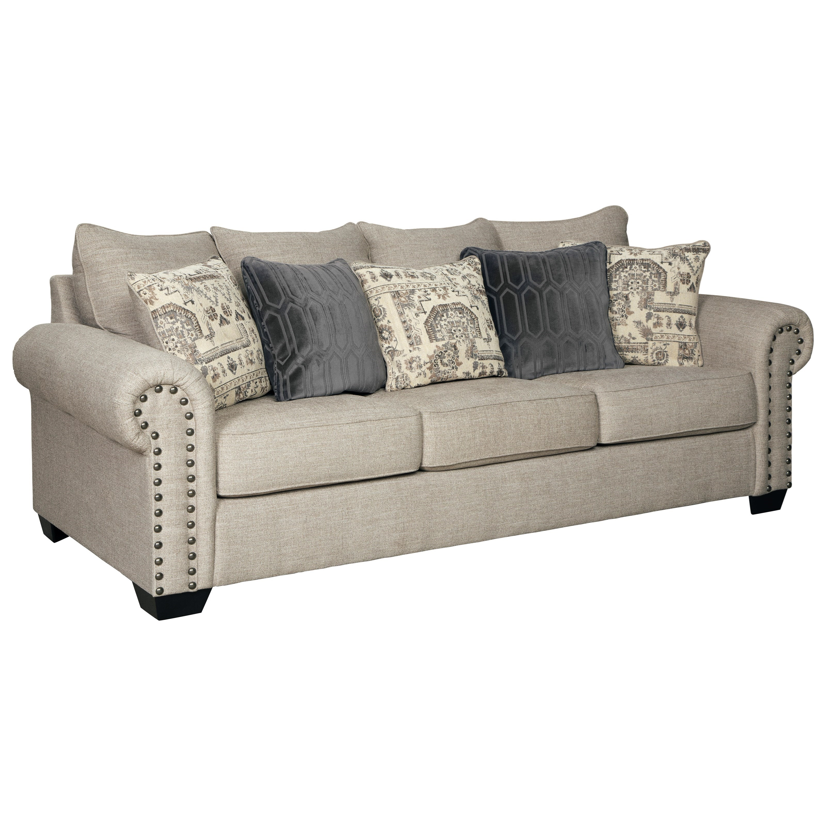 Signature Design By Ashley Zarina Transitional Sofa With