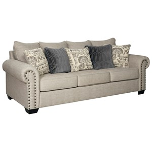 Transitional Queen Sofa Sleeper