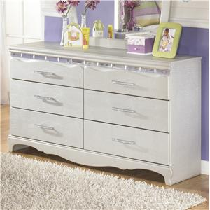 Signature Design by Ashley Zarollina Dresser