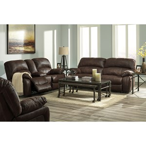 Signature Design by Ashley Zavier Reclining Living Room Group