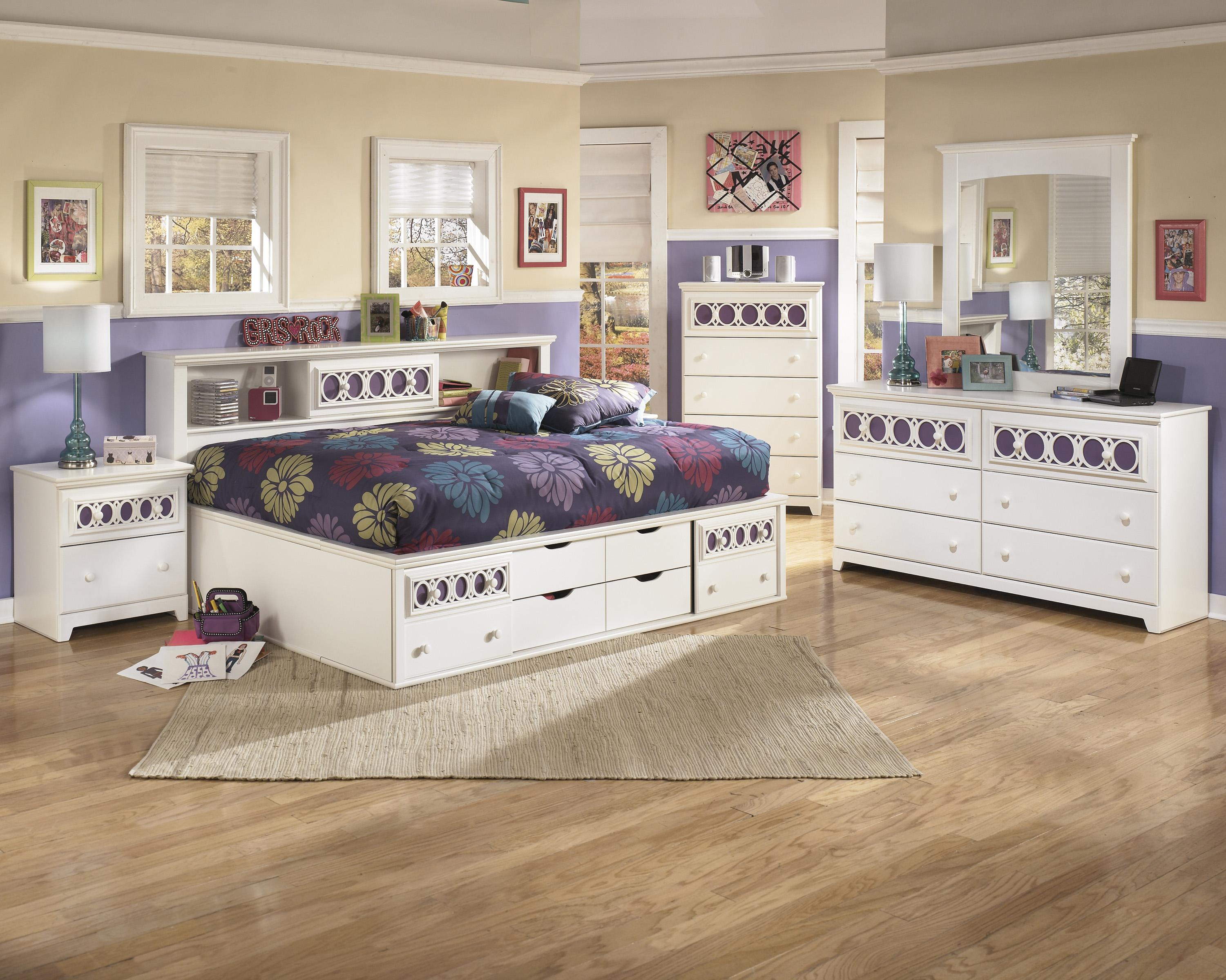 Zayley Full Bedroom Group By Signature Design By Ashley At Household Furniture