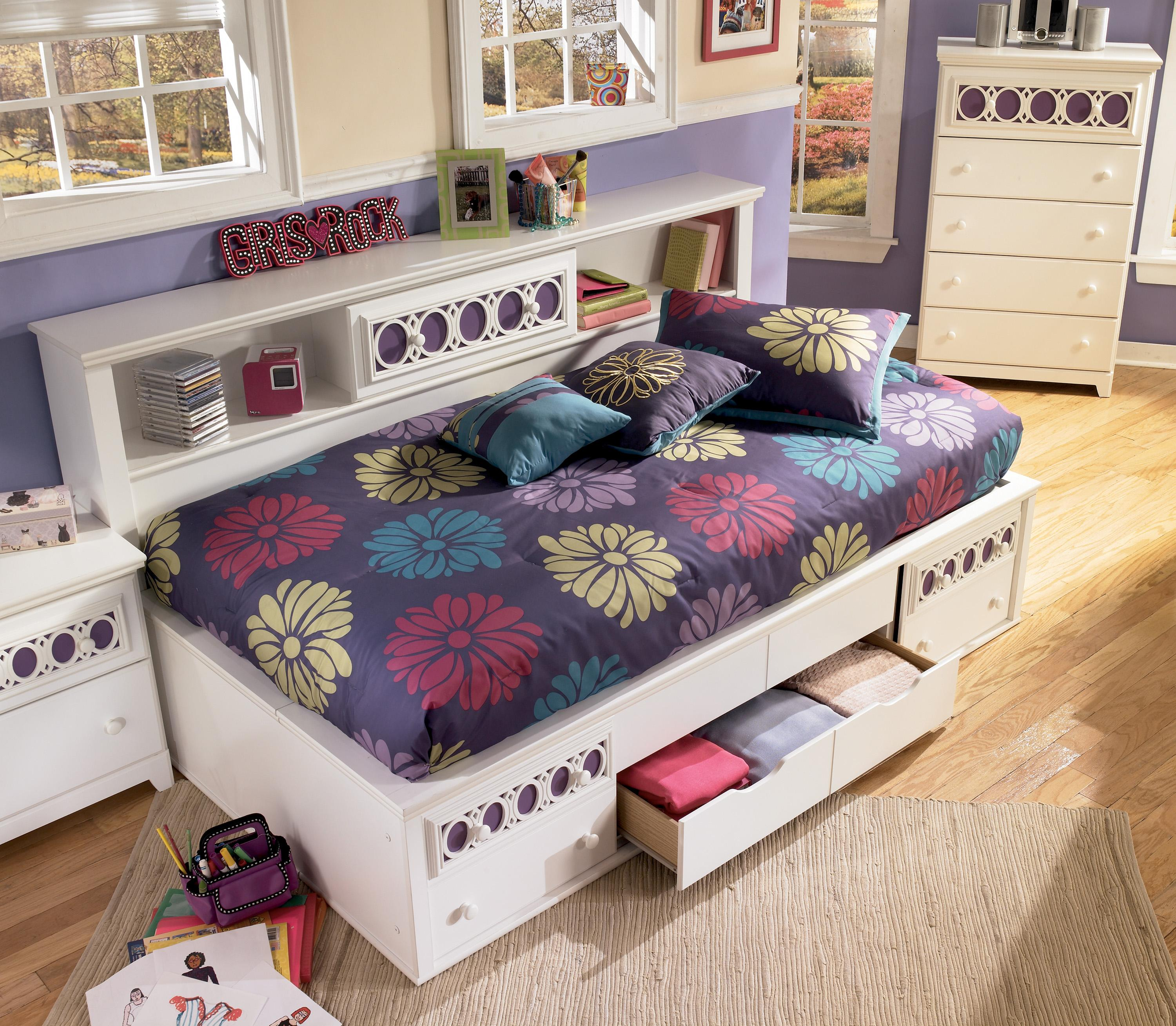 Hays Furniture Hopkinsville Ky ... with Customizable Color Panels - Del Sol Furniture - Captain's Bed