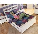 Signature Design by Ashley Zayley Full Panel Bed with Trundle Storage Box & Customizable Color Panels