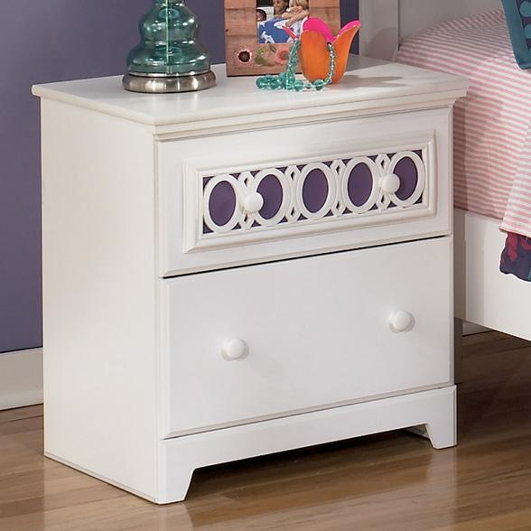 Signature Design by Ashley Zayley Night Stand - Item Number: B131-92